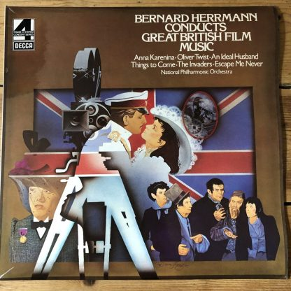 PFS 4363 Bernard Herrmann Conducts Great British Film Music