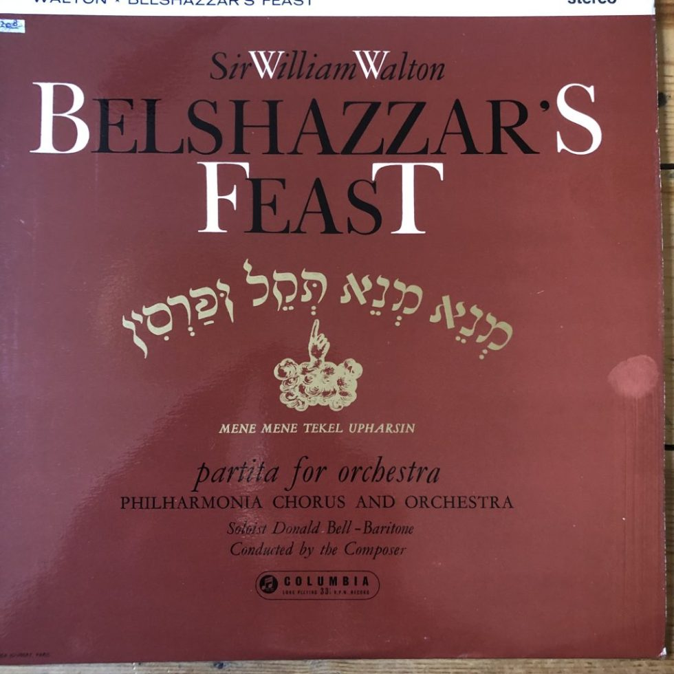 SAX 2319 Walton Belshazzar's Feast / Partita For Orchestra Walton