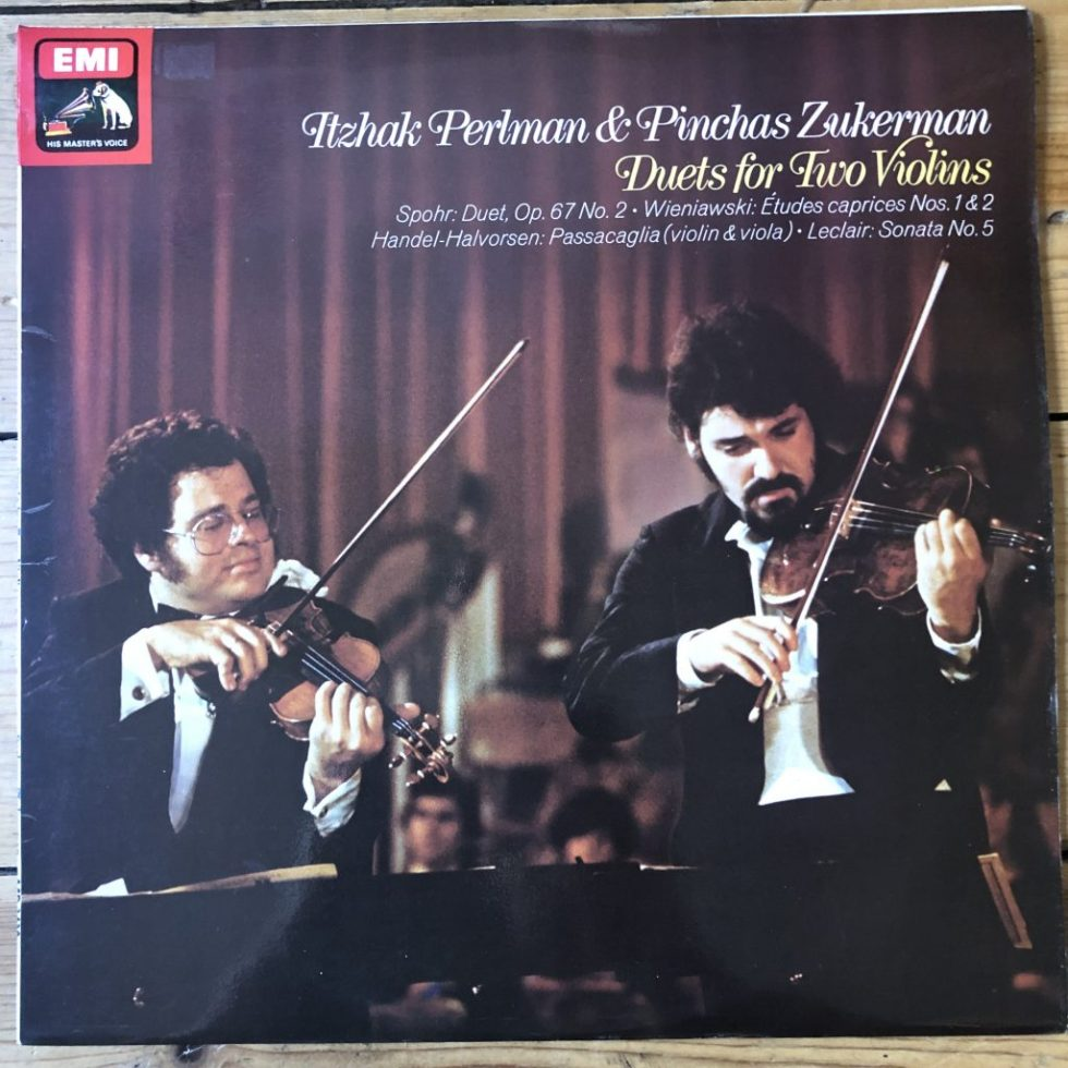 ASD 3430 Duets for Two Violins / Perlman / Zukerman
