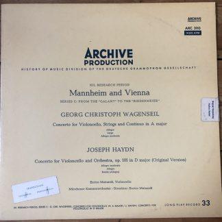 ARC 3110 Wagenseil / Haydn Cello Concertos