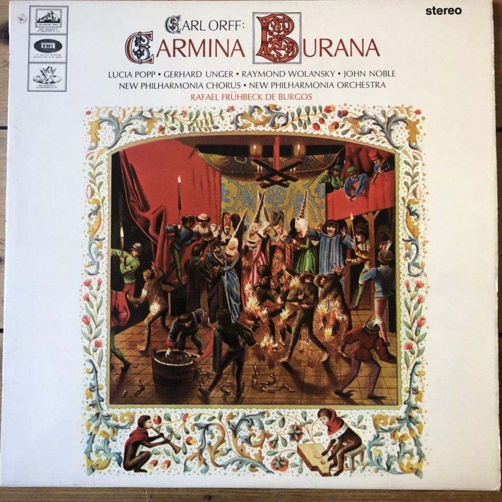 SAN 162 Orff Carmina Burana / Fruhbeck de Burgos W/A