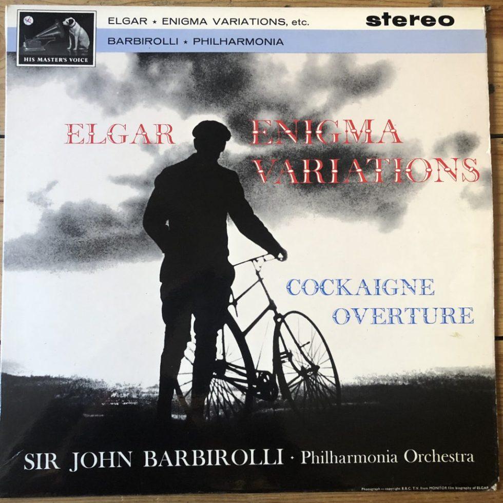 ASD 548 Elgar 'Enigma' Variations, 'Cockaigne' Overture / Barbirolli W/G