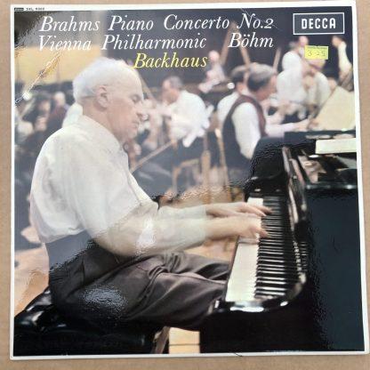 SXL 6322 Brahms Piano Concerto No.2 / Backhaus / Bohm / VPO