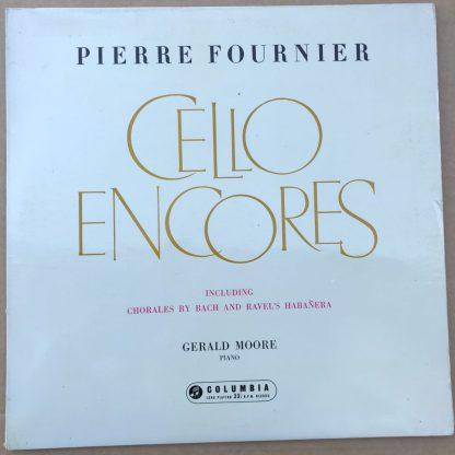 33CX 1644 Cello Encores / Pierre Fournier