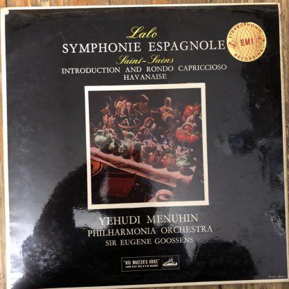 ASD 290 Lalo Symphonie Espagnole, etc. / Menuhin / Goosens