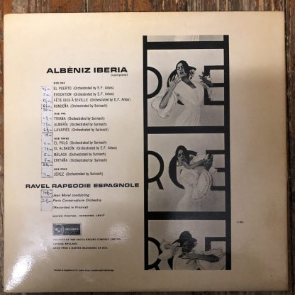 SB 2131/2 Albeniz Iberia Ravel Rhapsodie Espagnole