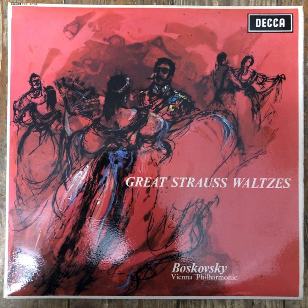 SXL 6029 Great Strauss Waltzes / Boskovsky / VPO W/B