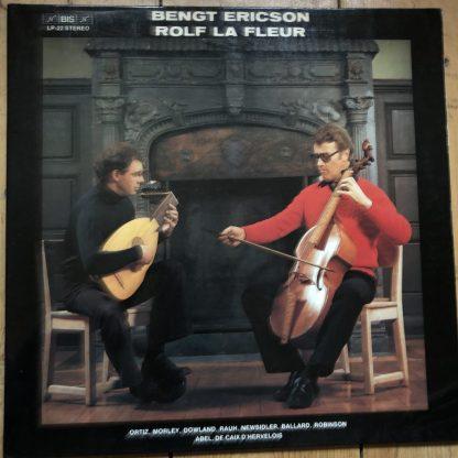 BIS LP 22 Bengt Ericon / Rolf La Fleur