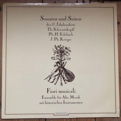 TGS 301 Sonatas & Suites of the 17th Century / Fiori Musicali