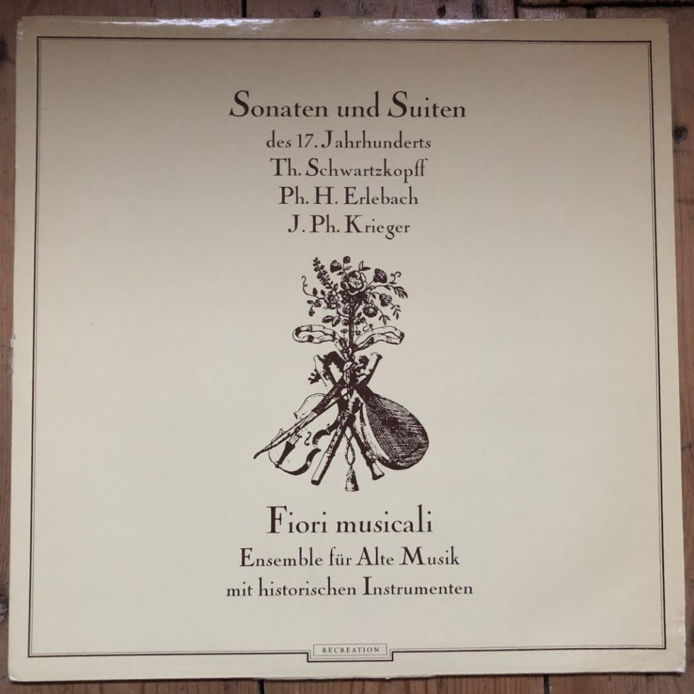 TGS 301 Sonatas & Suites of the 17th Century / Fiori Musicali