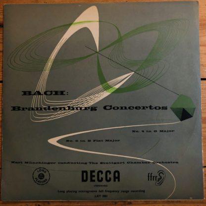 LXT 2501 Bach Brandenburg Concertos 4 & 5