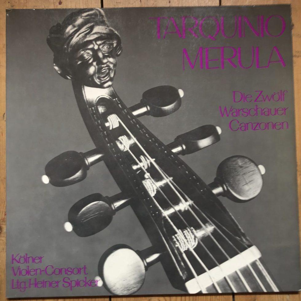 MTH 158 Tarquino / Merula Die Zwölf Warschauer Canzonen