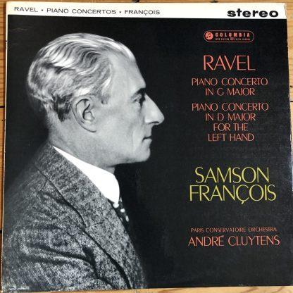 SAX 2394 Ravel Piano Concertos / Samson Francois / Cluytens