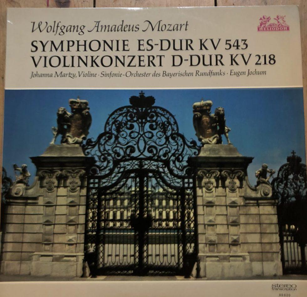 89620 Mozart Symphony No. 39 / Violin Concerto No. 4