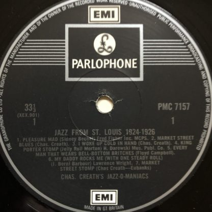PMC 7157 Jazz From St Louis 1924-1926
