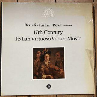 6.41106 AS 17th Century Italian Virtuoso Violin Music