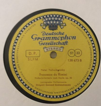 138 673 Khachaturian Gayaneh / Tchaikovsky Francesca da Rimini