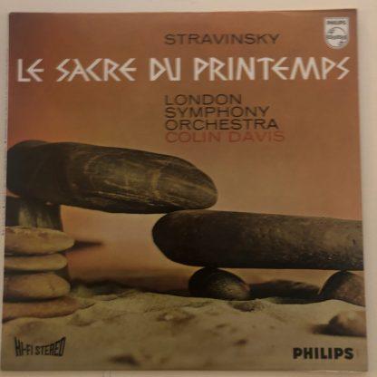 SAL 3471 Stravinsky The Rite of Spring / Davis / LSO Hi-Fi STEREO
