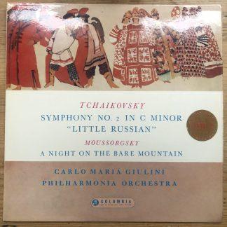 SAX 2416 Tchaikovsky Sym No.2 Mussorgsky A Night On The Bare Mountain Giulini BS