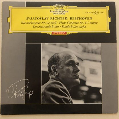 138 848 Beethoven Piano Concerto No. 3 / Richter TULIP