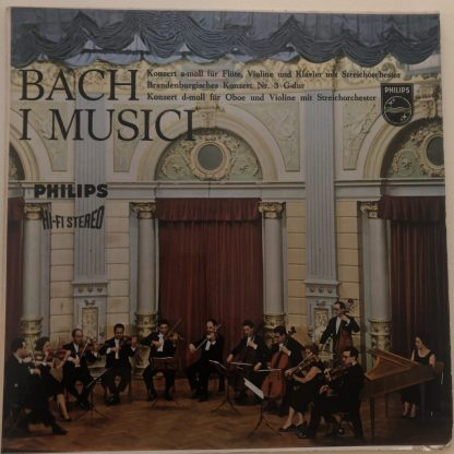 SABL 204 Bach Concertos / I Musici HI-FI