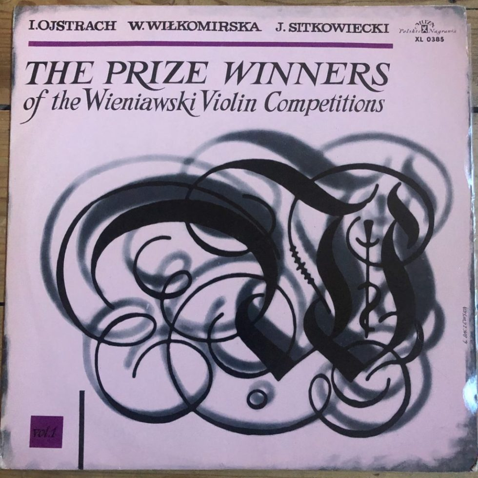 XL 0385 The Prize Winners Of The Wieniawski