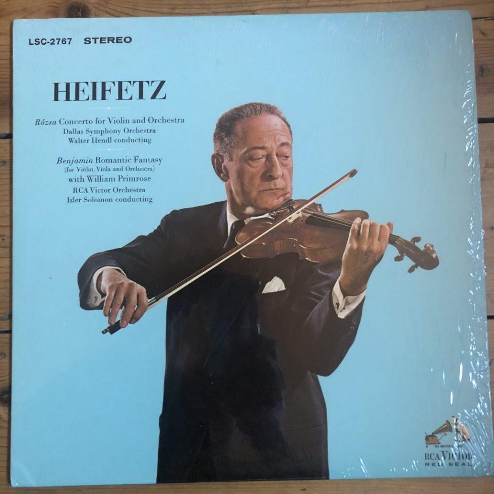 SB 2066 Mendelssohn / Prokofiev Violin Concertos / Heifetz / Munch R/S