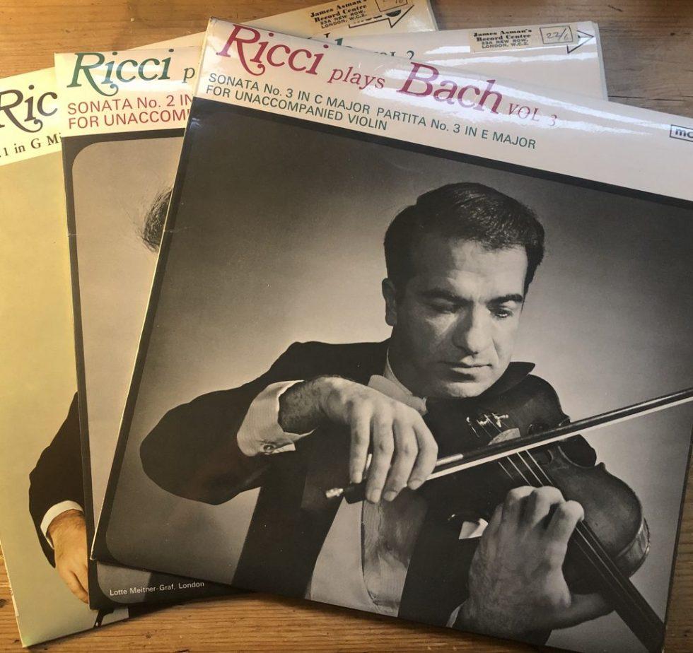 MUCS 103/119/122 Bach Complete Sonatas & Partitas