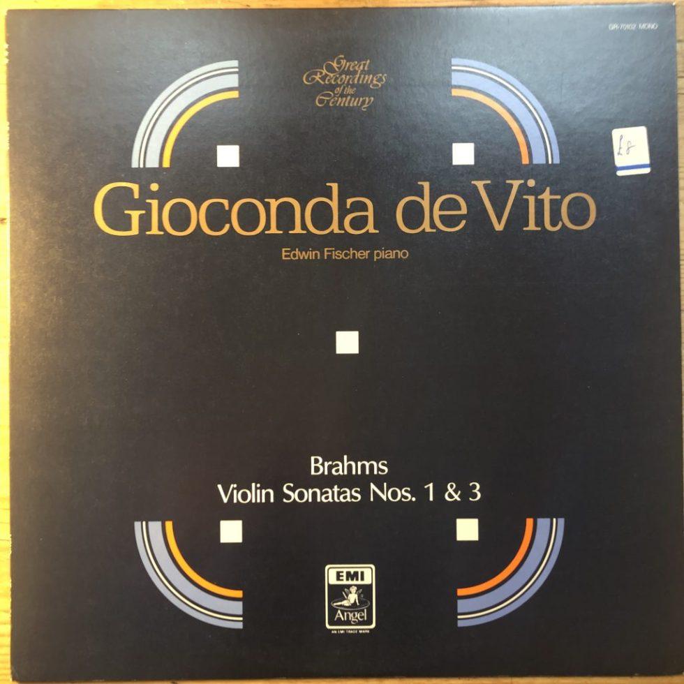 GR-70102 Brahms Violin Sonatas 1 & 3