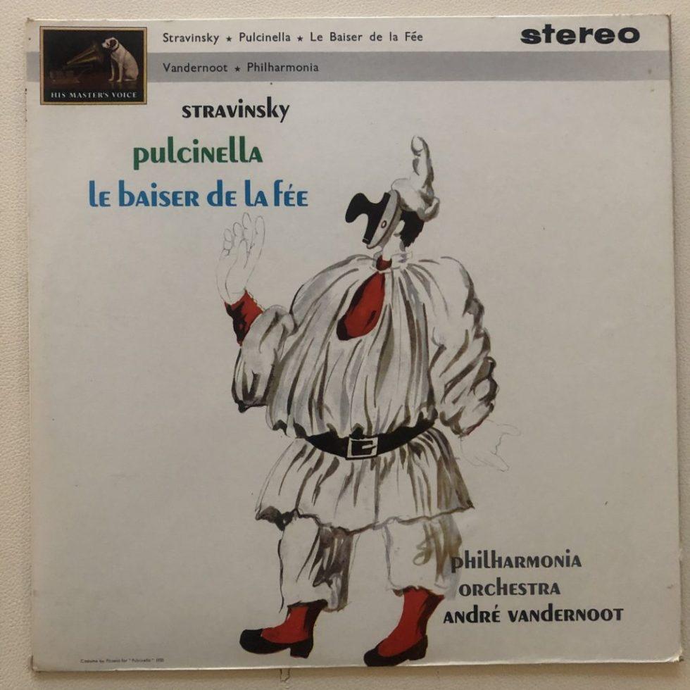 ASD 507 Stravinsky Pulcinella / Le Baiser de la Fee / Vandernoot W/G