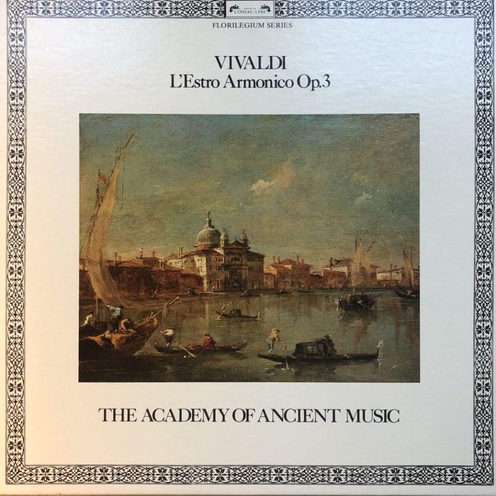 D245D2 Vivaldi L'Estro Armonico Op. 3 / AAM / Hogwood 2 LP box