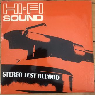 HFS69 HI-FI Sound Stereo Test Record
