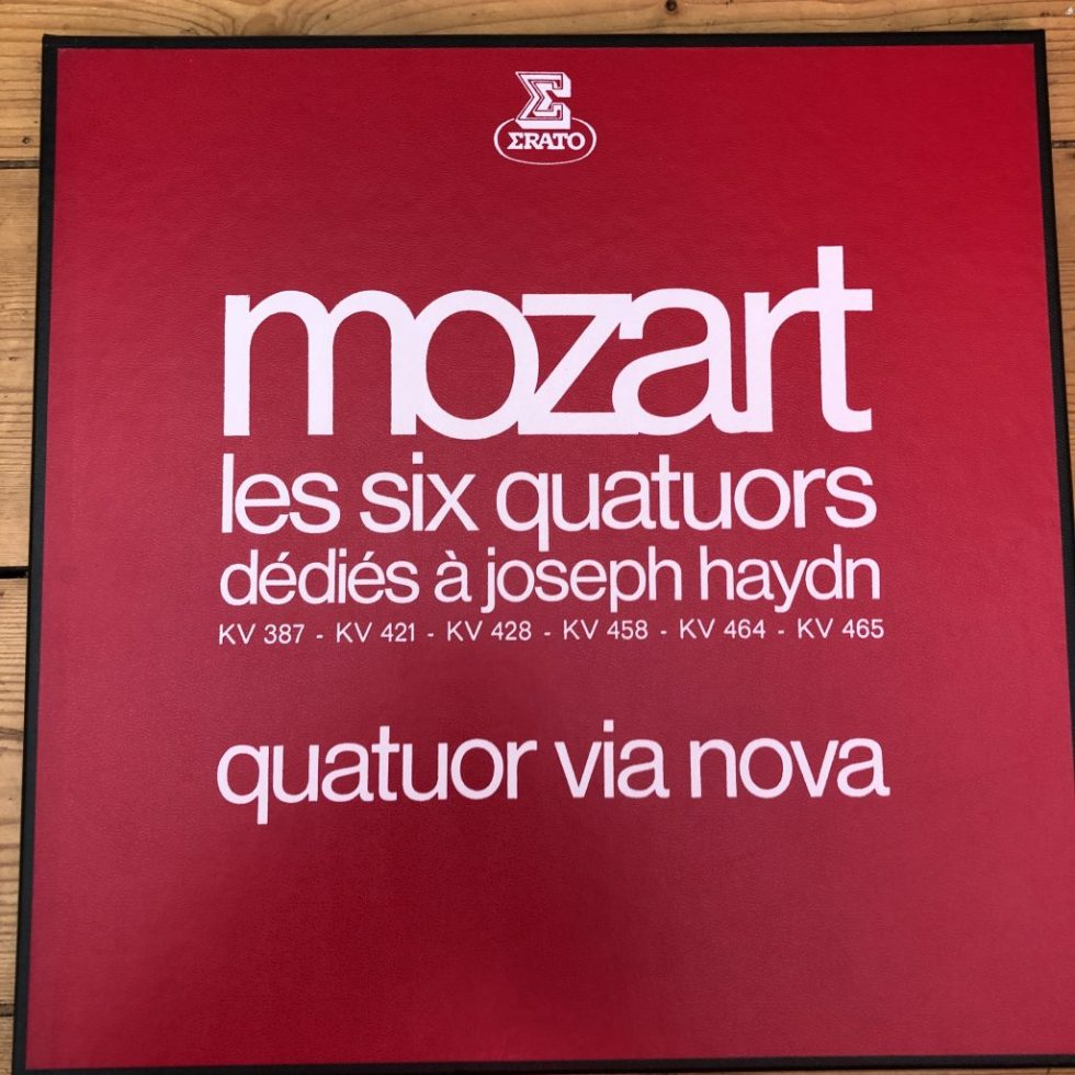 STU 70815/6/7 Mozart 6 Quartets Dedicated to Haydn