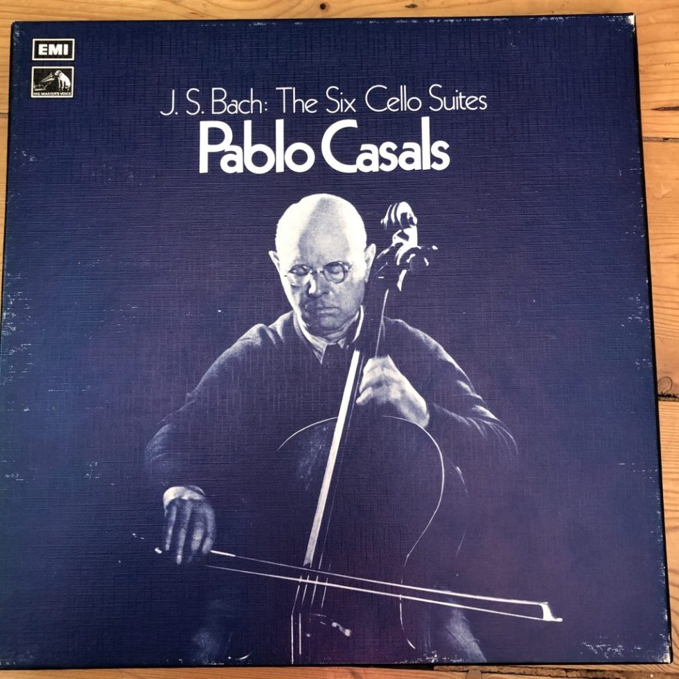 RLS 712 Bach The Six Cello Suites / Pablo Casals 3 LP box set