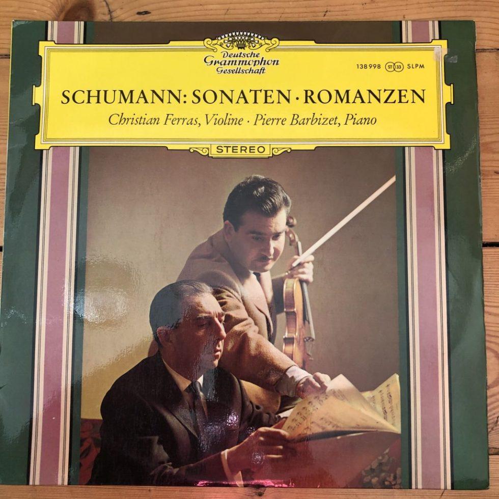 138 998 Schumann Violin Sonatas, 3 Romances