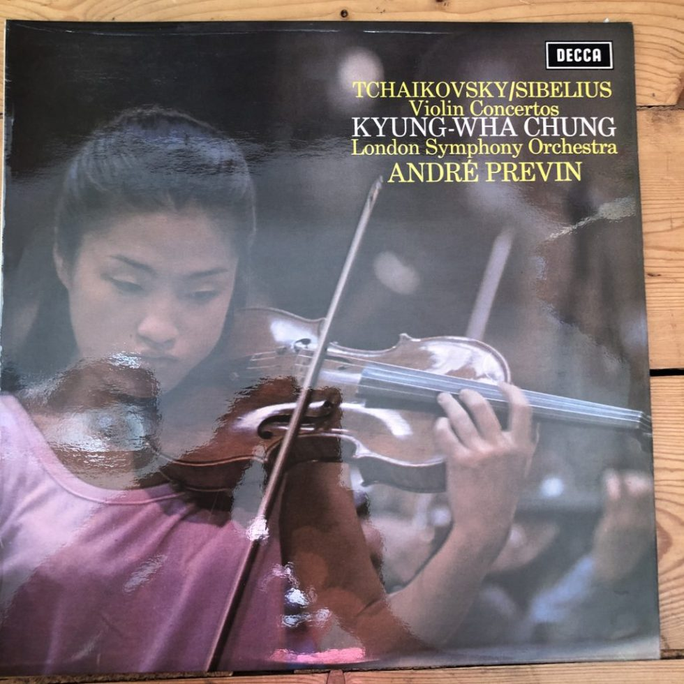 SXL 6493 Tchaikovsky / Sibelius Violin Concertos