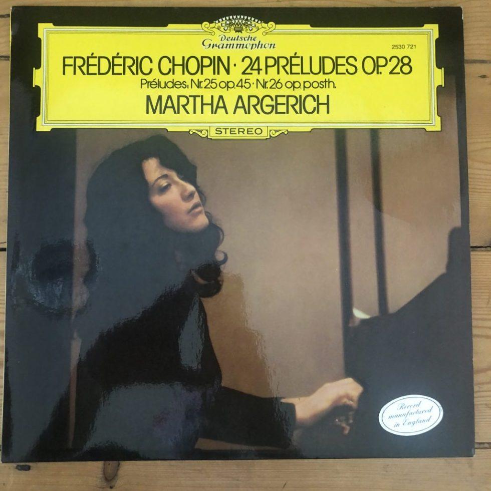 2530 721 Chopin 24 Preludes Op. 28 / Martha Argerich