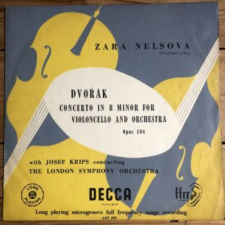 LXT 2727 Dvorak Cello Concerto
