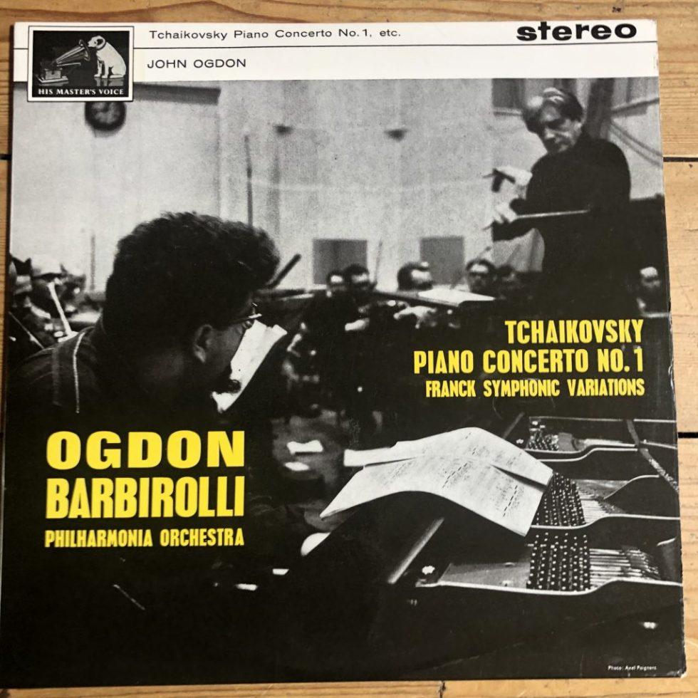 ASD 542 Tchaikovsky Piano Concerto No 1 / John Ogdon / Barbirolli W/G