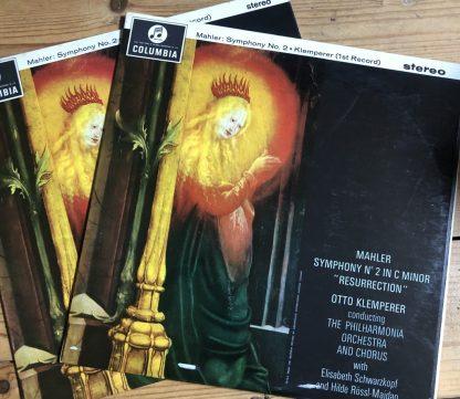 SAX 2473/74 Mahler Symphony No. 2 / Klemperer E/R 2 LP set