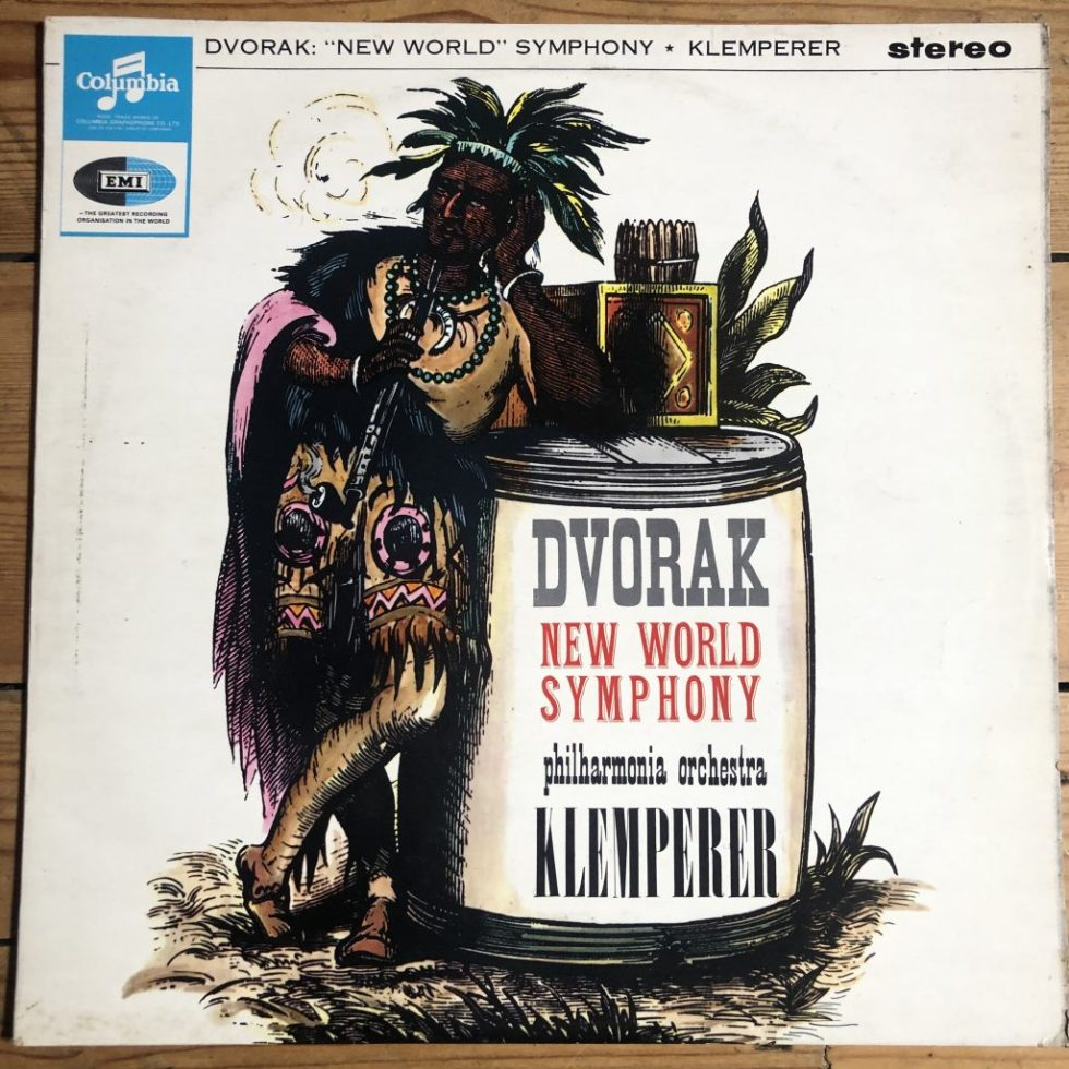 SAX 2554 Dvorak New World Symphony / Klemperer E/R