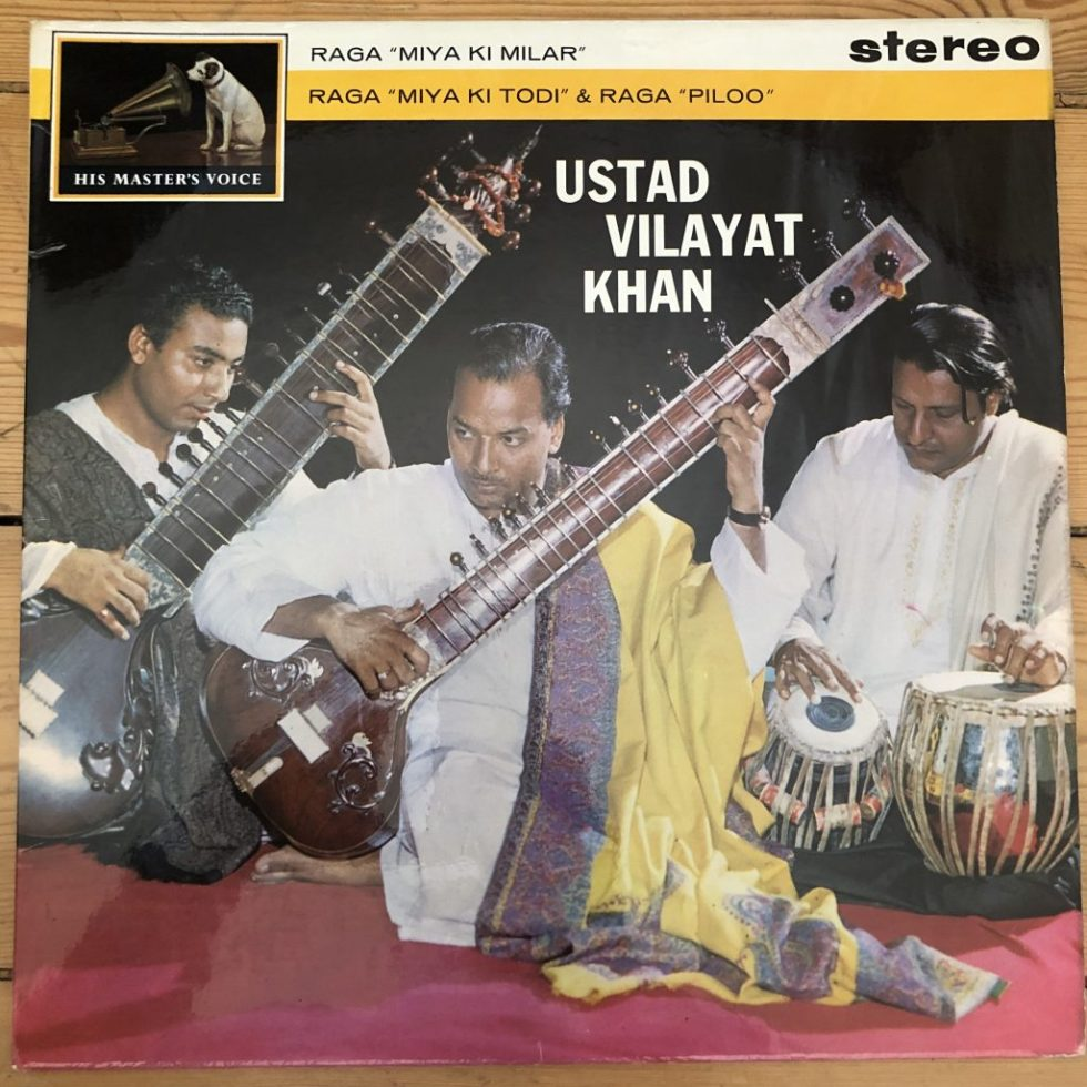 ASD 498 Music of India / Ustad Vilayat Khan W/G