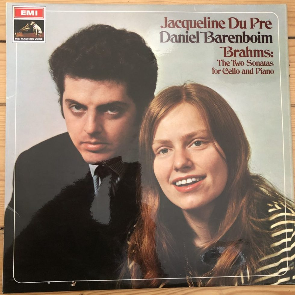 ASD 2436 Brahms Cello Sonatas Jacqueline Du Pre & Daniel Barenboim