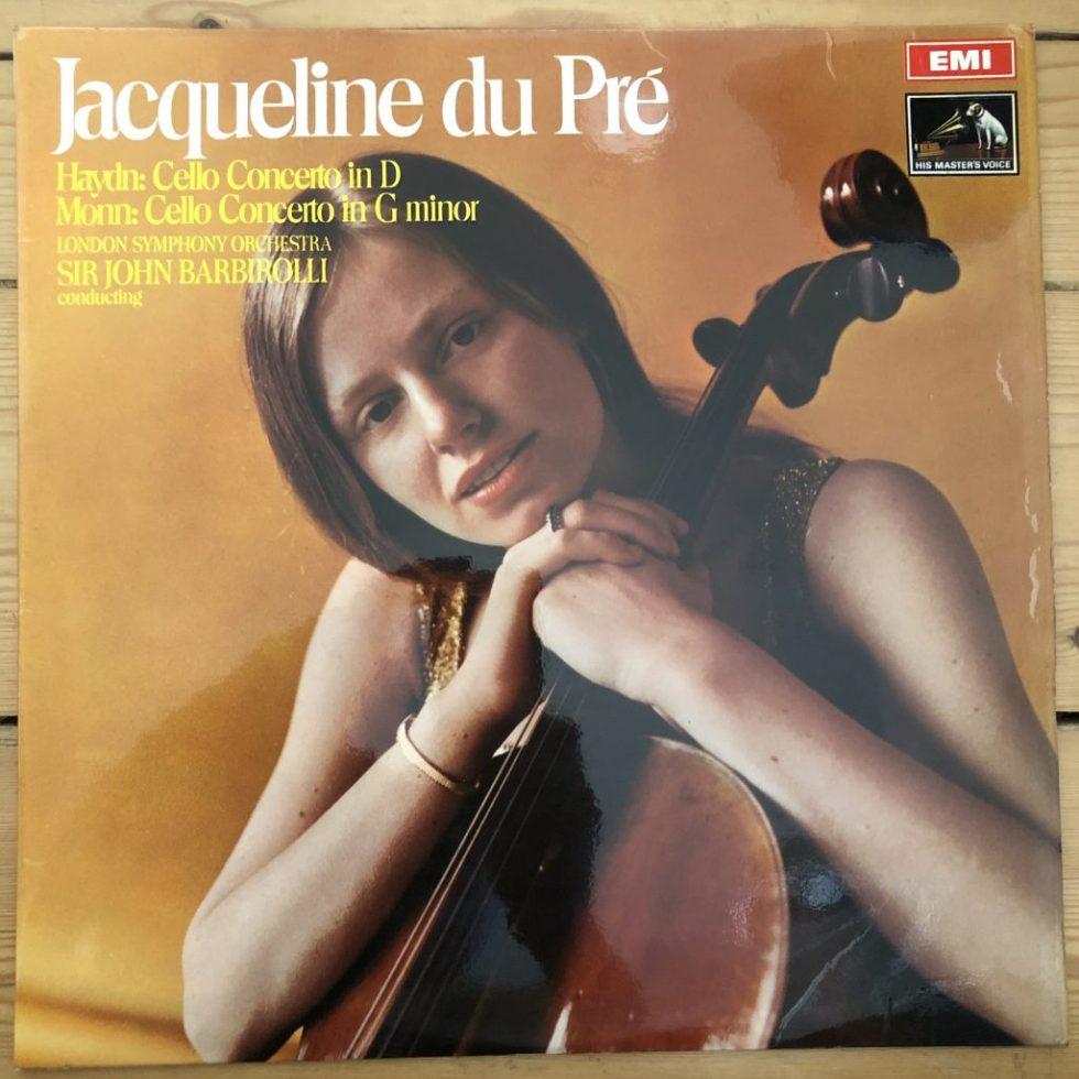ASD 2466 Haydn / Monn Cello Concertos / Jacqueline Du Pre / Barbirolli S/C