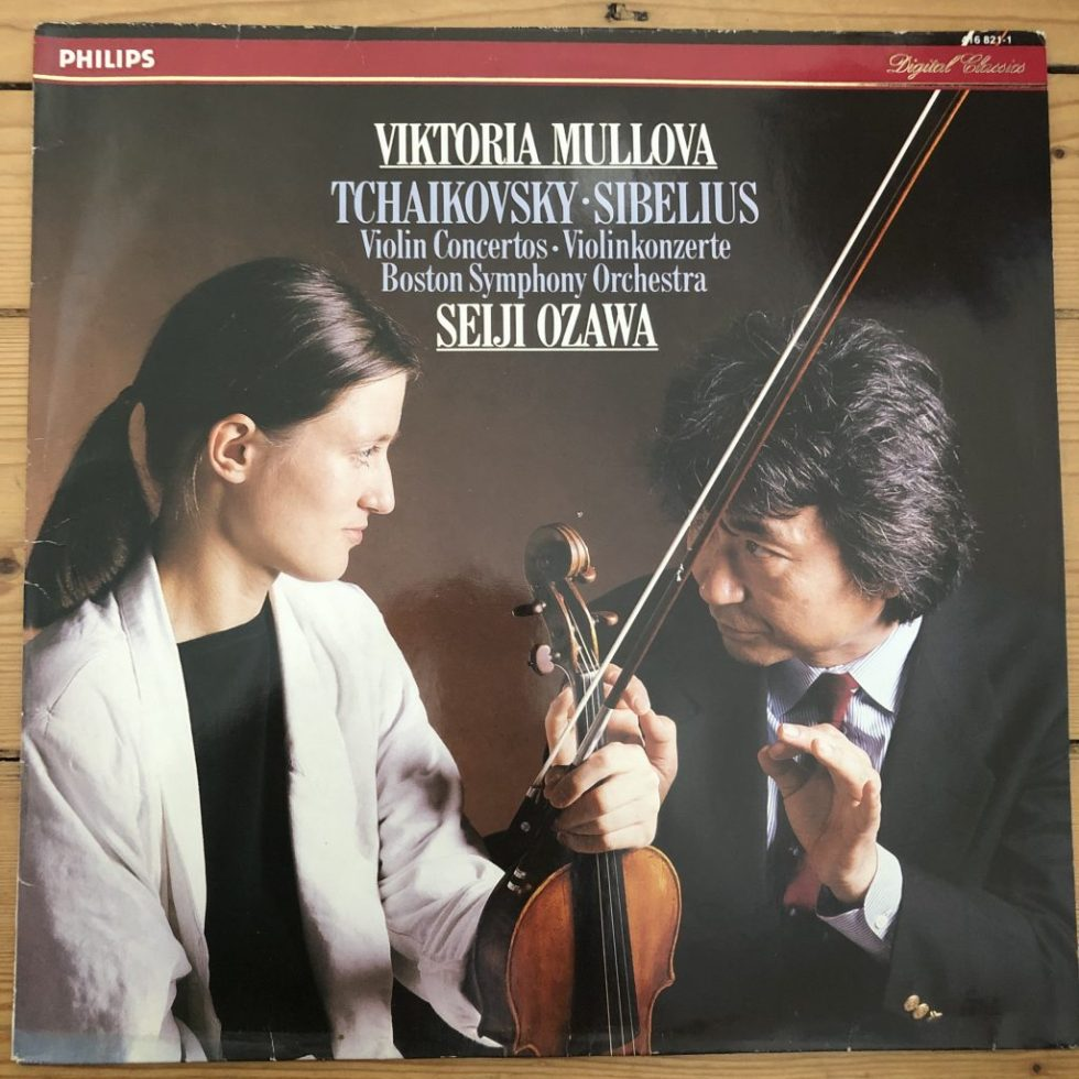 416 821-1 Tchaikovsky & Sibelius Violin Concertos