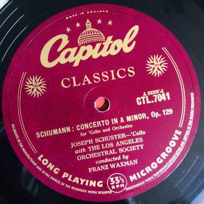 CTL 7041 Schumann Cello Concerto