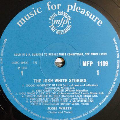 MFP 1139 Josh White Good Morning Blues
