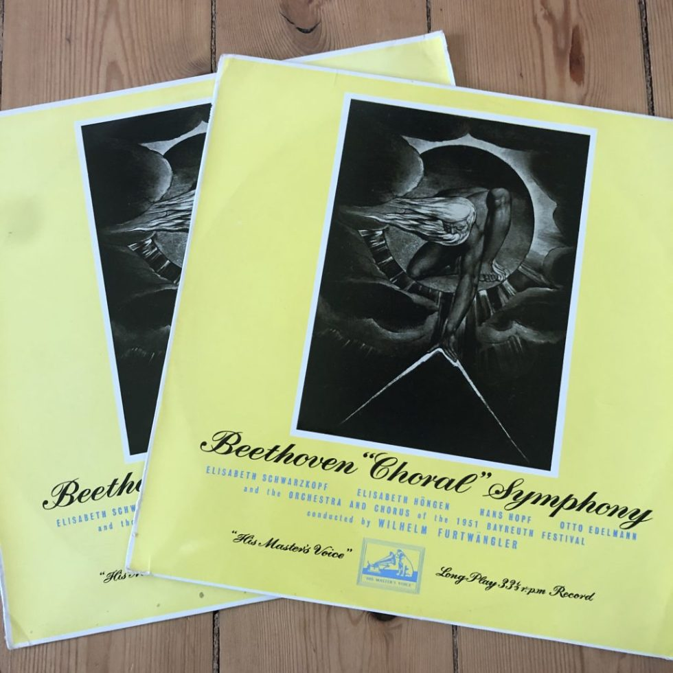 ALP 1286/87 Beethoven Symphony No. 9 / Furtwangler / Bayreuth R/G 2 LP set