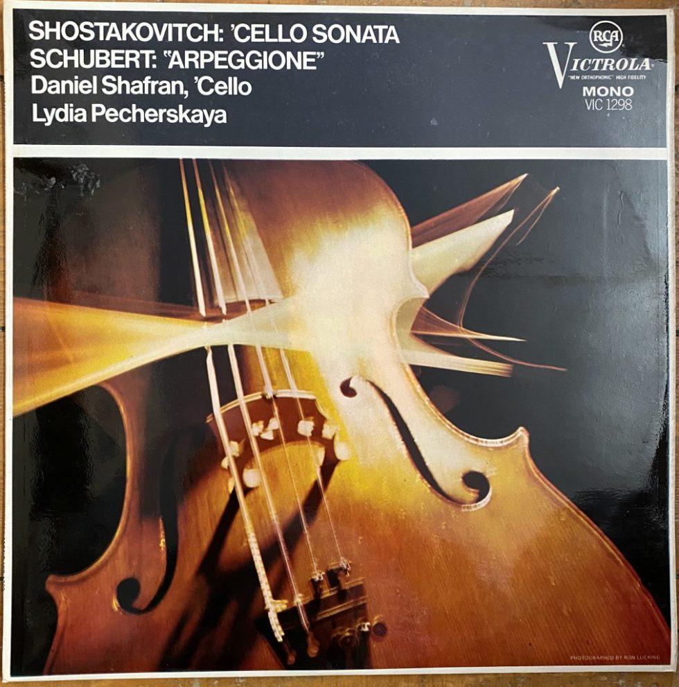 """VIC 1298 Shostakovich Cello Sonata / Schubert """"Arpeggione"""""""