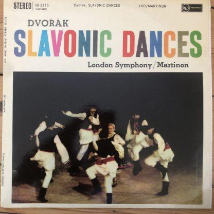SB 2115 Dvorak Slavonic Dances / Martinon